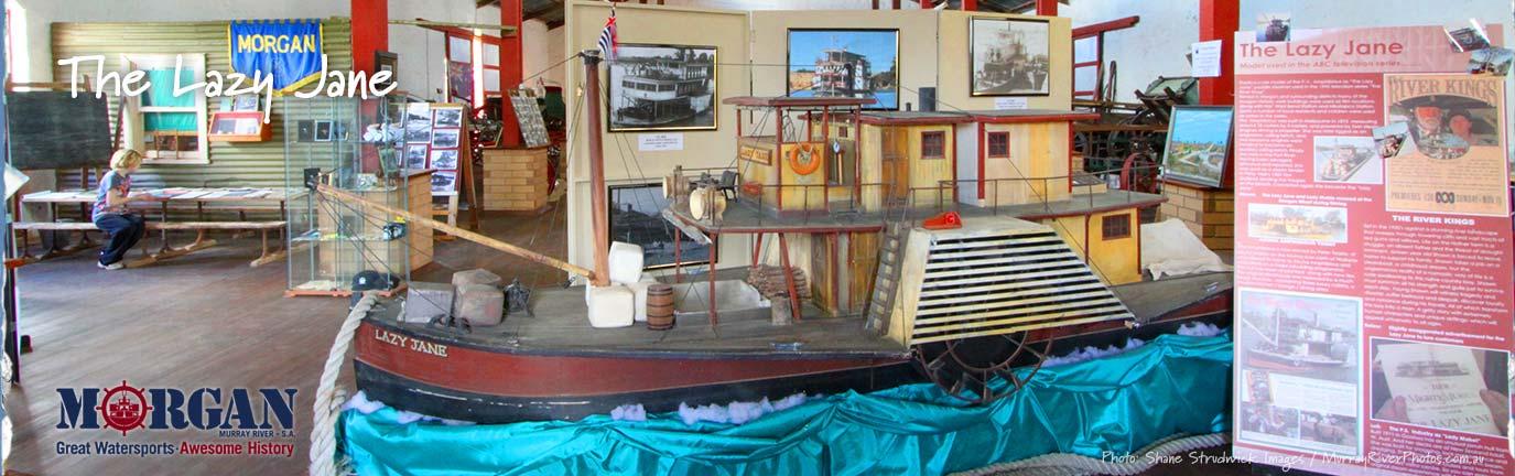 Visit Morgan Lazy Jane paddle boatbanner - Shane Strudwick Images